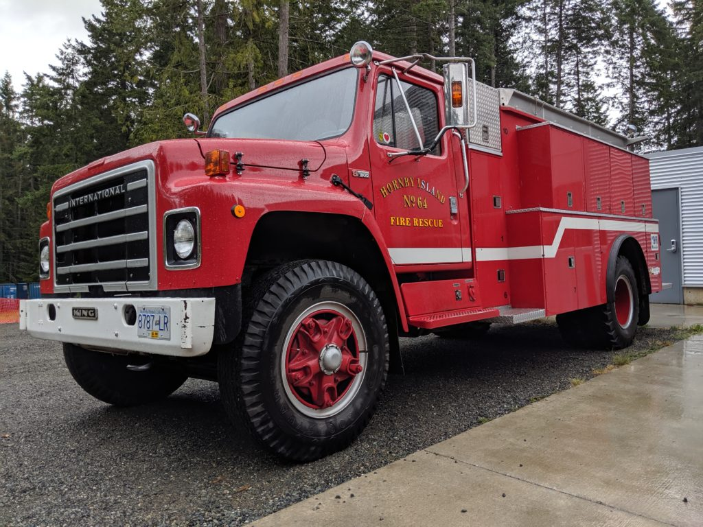 Hornby Island Fire Rescue – Fire prevention and department